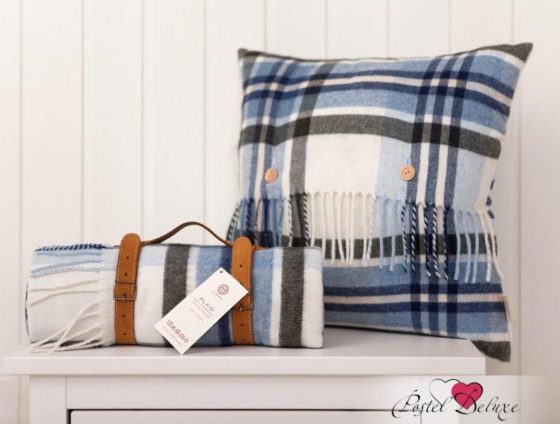 Декоративные подушки Luxberry Декоративная наволочка Lux 32 Цвет: Экрю-Синий-Зеленый (45х45) бусы авантюрин зеленый 45 см