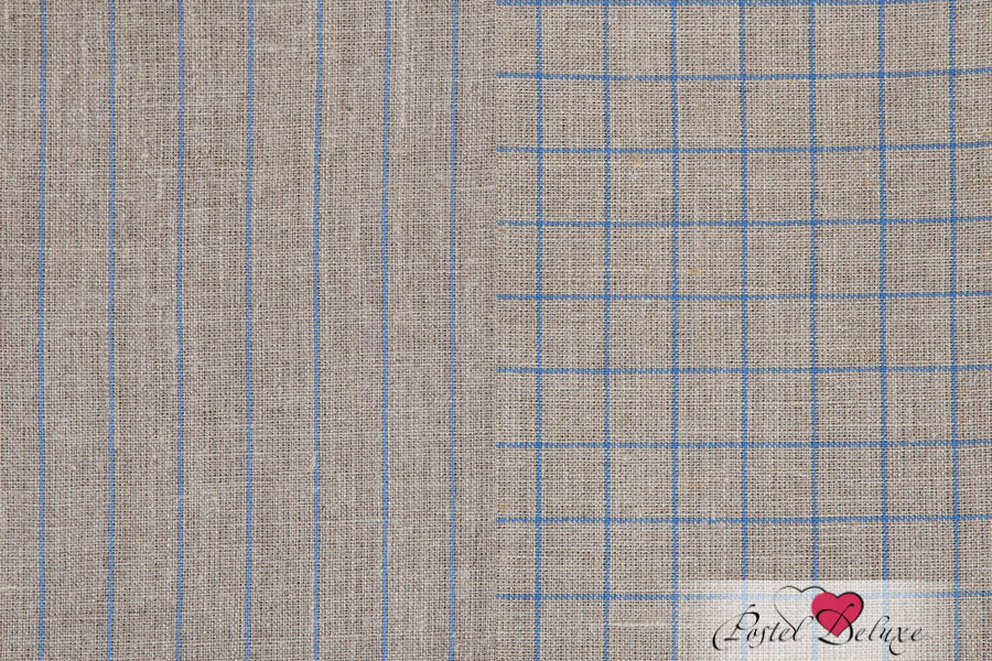 {} Luxberry Кухонное полотенце Timeless Maxi Цвет: Натуральный-Синий (50х70 см - 2 шт)