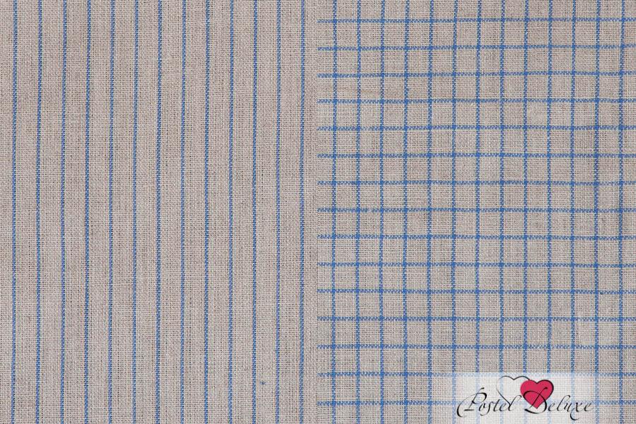 {} Luxberry Кухонное полотенце Timeless Mini Цвет: Натуральный-Синий (50х70 см - 2 шт)