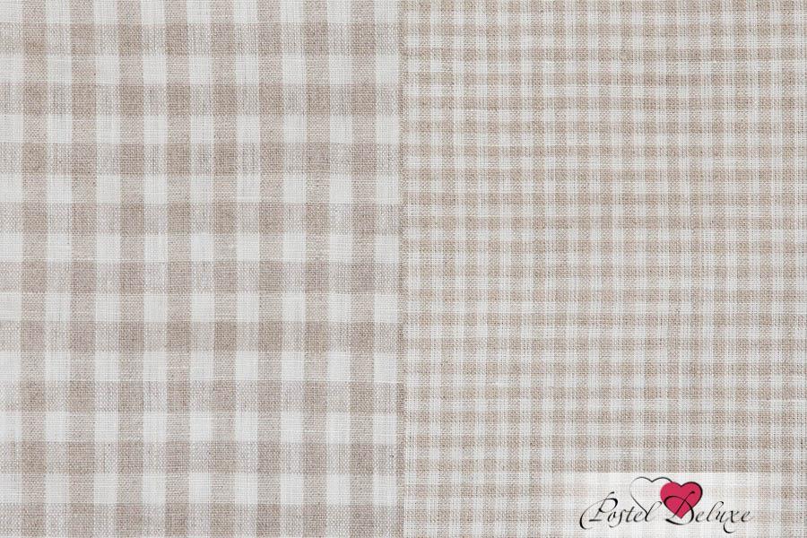 {} Luxberry Кухонное полотенце Timeless Цвет: Клетка-Белый-Натуральный (50х70 см - 2 шт)