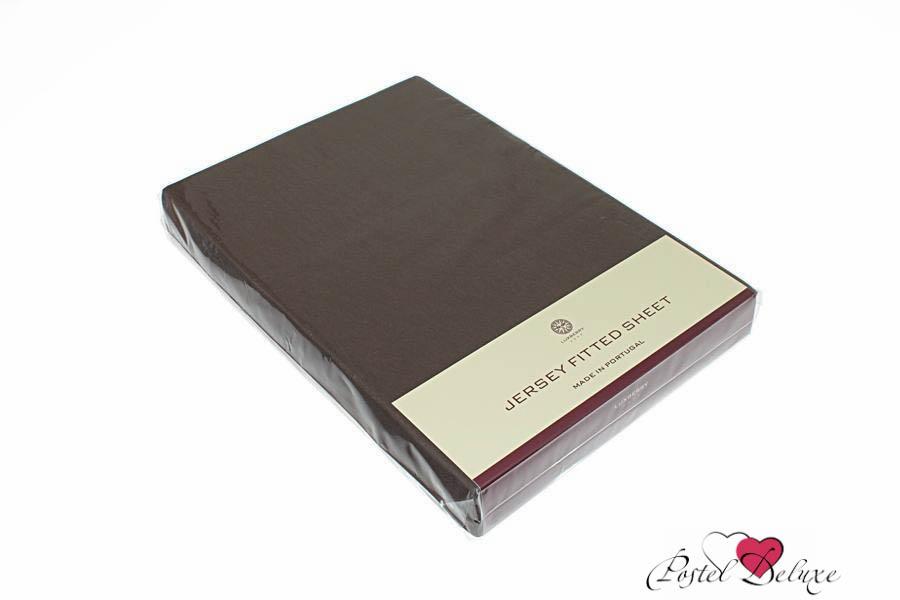 Простыни Luxberry Простыня на резинке Mordred Цвет: Шоколадный (180х200) плед luxberry imperio 10 умбра