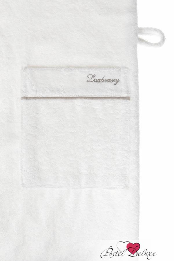 Сауны, бани и оборудование Luxberry Халат Basic Цвет: Белый-Натуральный (M) плед luxberry imperio 10 умбра