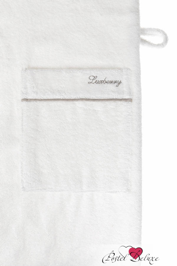 Сауны, бани и оборудование Luxberry Халат Basic Цвет: Белый-Натуральный (хL)