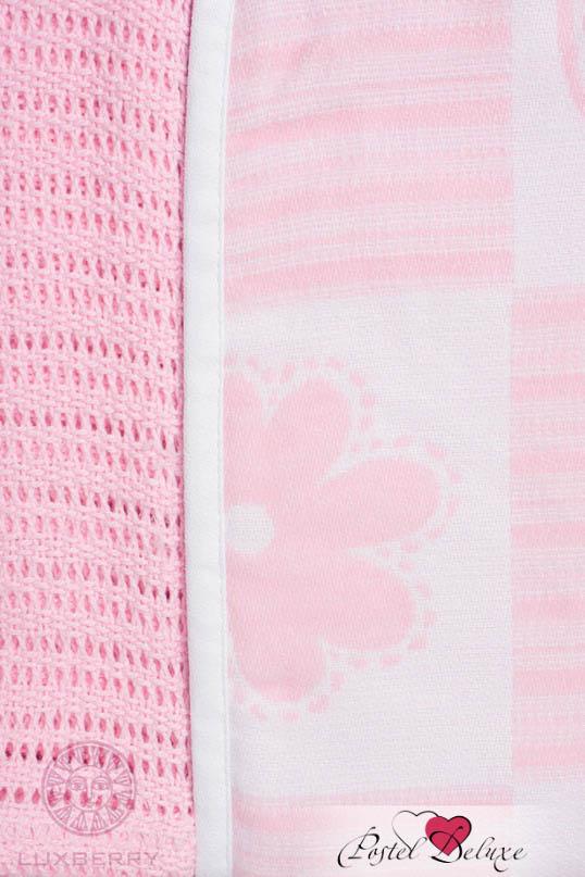 Детские покрывала, подушки, одеяла Luxberry Детский плед Set Lux 2287 Цвет: Розовый-Белый (75х100 см - 2 шт) плед luxberry imperio 10 умбра