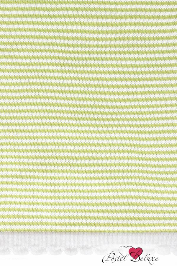 Детские покрывала, подушки, одеяла Luxberry Детский плед Imperio 207 Цвет: Зеленый-Белый (75х100 см) плед luxberry плед imperio 293 цвет белый темно серый 130х170 см