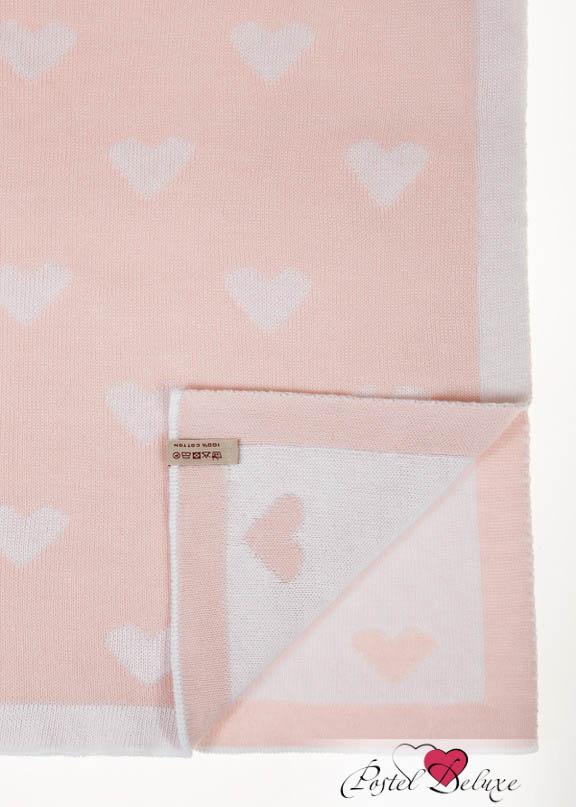 Детские покрывала, подушки, одеяла Luxberry Детский плед Imperio 243 Цвет: Розовый-Белый (100х150 см) плед luxberry плед imperio 10 цвет умбра 150х200 см