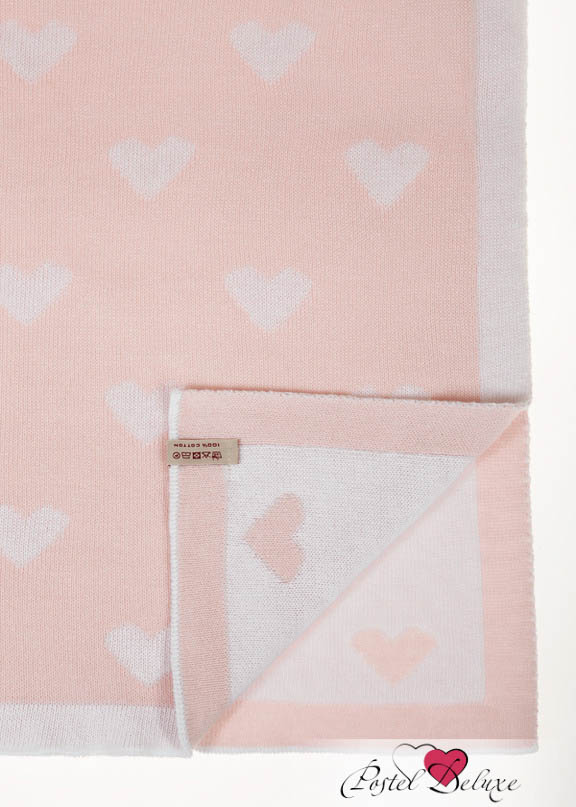 Детские покрывала, подушки, одеяла Luxberry Детский плед Imperio 243 Цвет: Розовый-Белый (100х150 см) детский плед luxberry imperio 10