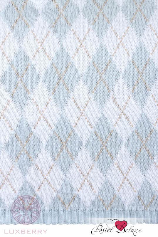 Детские покрывала, подушки, одеяла Luxberry Детский плед Imperio 252 Цвет: Голубой-Белый-Бежевый (75х100 см) плед luxberry imperio 10 умбра