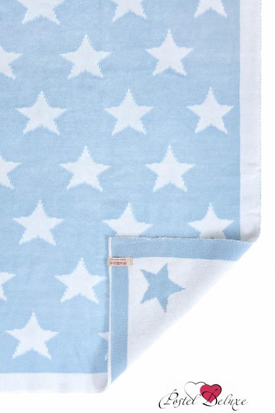 Детские покрывала, подушки, одеяла Luxberry Детский плед Imperio 254 Цвет: Голубой-Белый (100х150 см) плед luxberry плед imperio 293 цвет белый темно серый 130х170 см