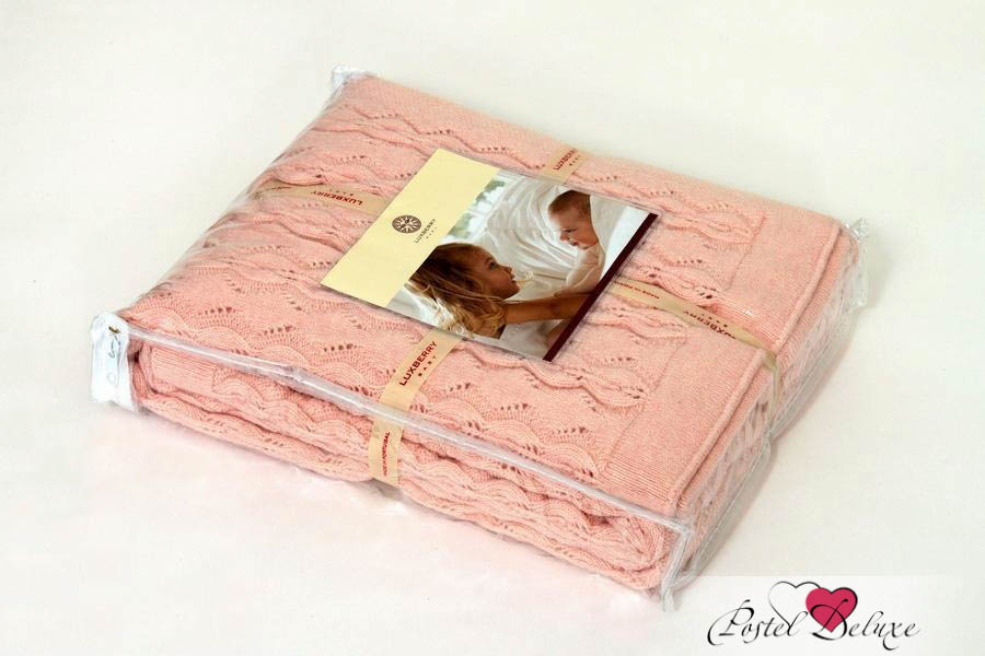 Детские покрывала, подушки, одеяла Luxberry Детский плед Imperio 77 Цвет: Розовый (100х150 см) плед luxberry imperio 10 умбра