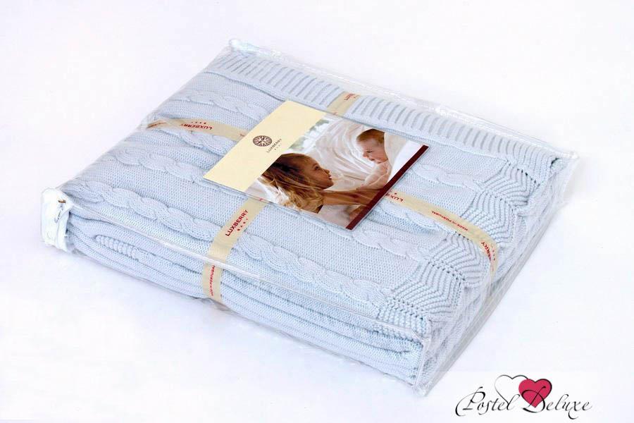 Детские покрывала, подушки, одеяла Luxberry Детский плед Imperio 93 Цвет: Голубой (100х150 см) детский комплект luxberry sweet life простыня без резинки