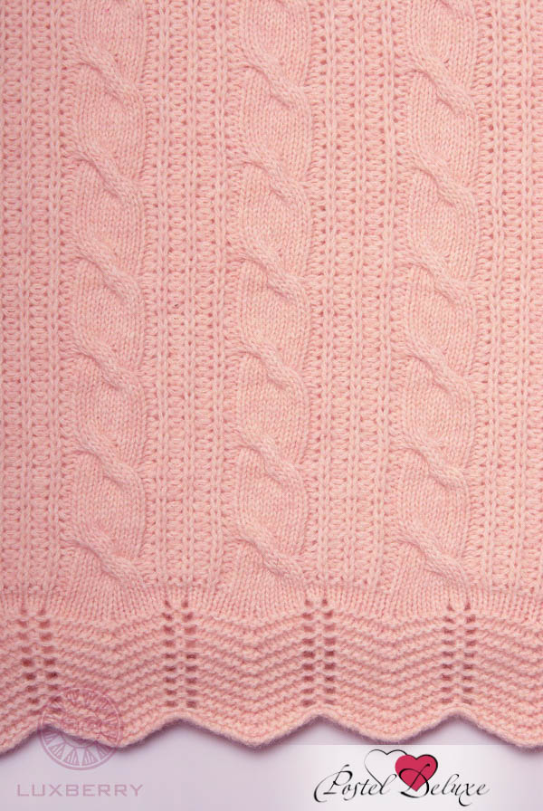 Детские покрывала, подушки, одеяла Luxberry Детский плед Imperio 93 Цвет: Розовый (75х100 см) плед luxberry imperio 10 лавандовая вода