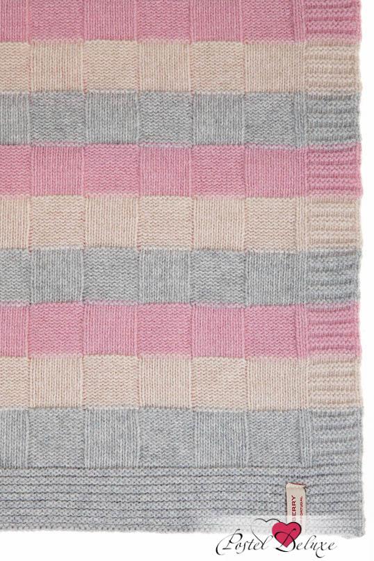 Детские покрывала, подушки, одеяла Luxberry Детский плед Lux 218 Цвет: Розовый-Белый-Серый (75х100 см) плед luxberry imperio 10 умбра