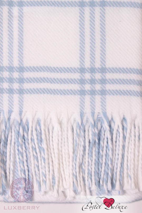 Детские покрывала, подушки, одеяла Luxberry Детский плед Lux 519 Цвет: Голубой-Белый (75х100 см) плед luxberry imperio 10 умбра