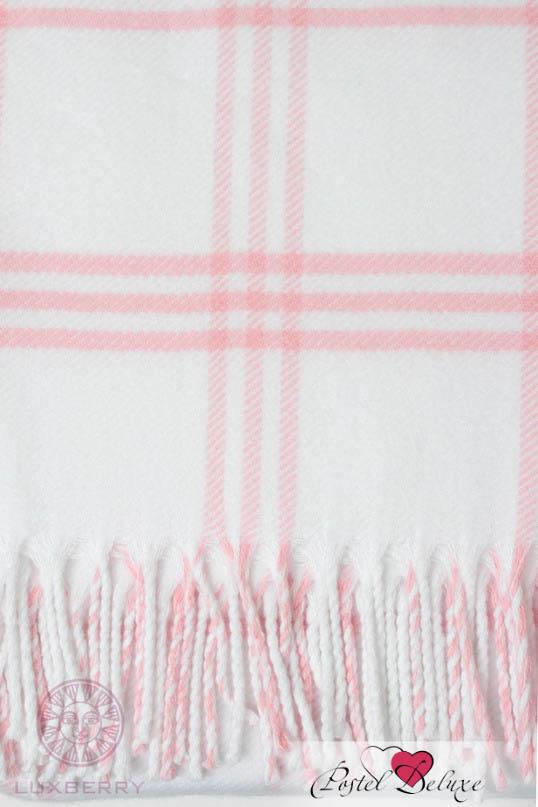Детские покрывала, подушки, одеяла Luxberry Детский плед Lux 519 Цвет: Розовый-Белый (100х150 см) плед luxberry imperio 10 умбра