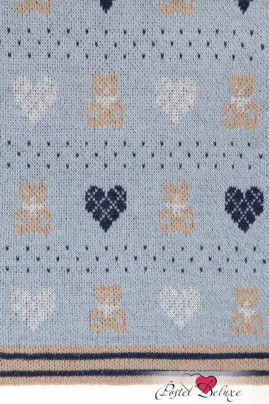Детские покрывала, подушки, одеяла Luxberry Детский плед Lux Bear Цвет: Голубой-Синий-Бежевый (100х150 см) luxberry luxberry детский плед vanessa цвет розовый 100х150 см