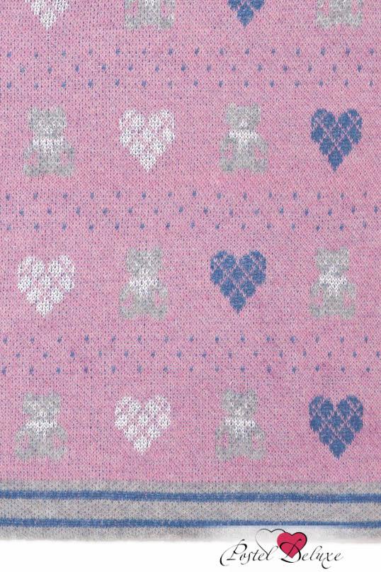 Детские покрывала, подушки, одеяла Luxberry Детский плед Lux Bear Цвет: Розовый-Голубой-Серый (100х150 см) плед luxberry imperio 10 умбра