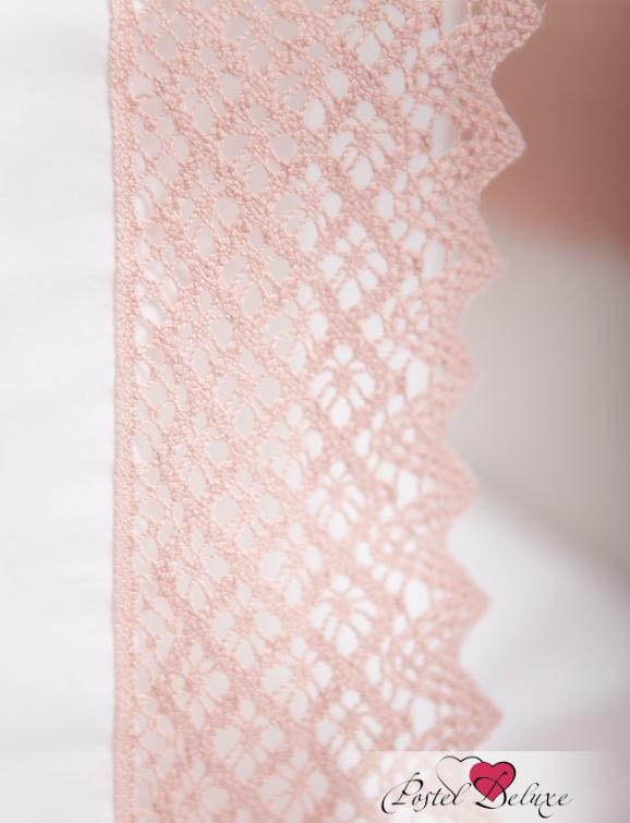 Детское постельное белье и комлекты Luxberry Чехол для бампера Rose Цвет: Белый-Розовый бампера на приору в ростове