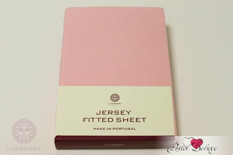 Простыни Luxberry Детская простыня Lorri Цвет: Розовый (75х130) простыни candide простыня bamboo fitted sheet 130г м2 60x120 см