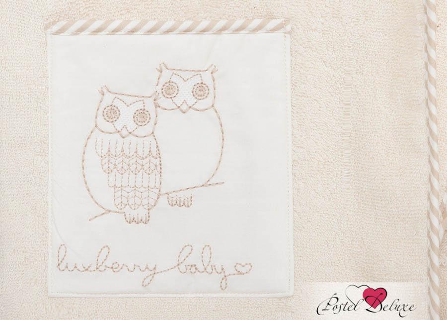 Детские халаты Luxberry Детский халат Совята Цвет: Жемчужный-Коричневый-Белый (7-8 лет) халаты домашние лори халат