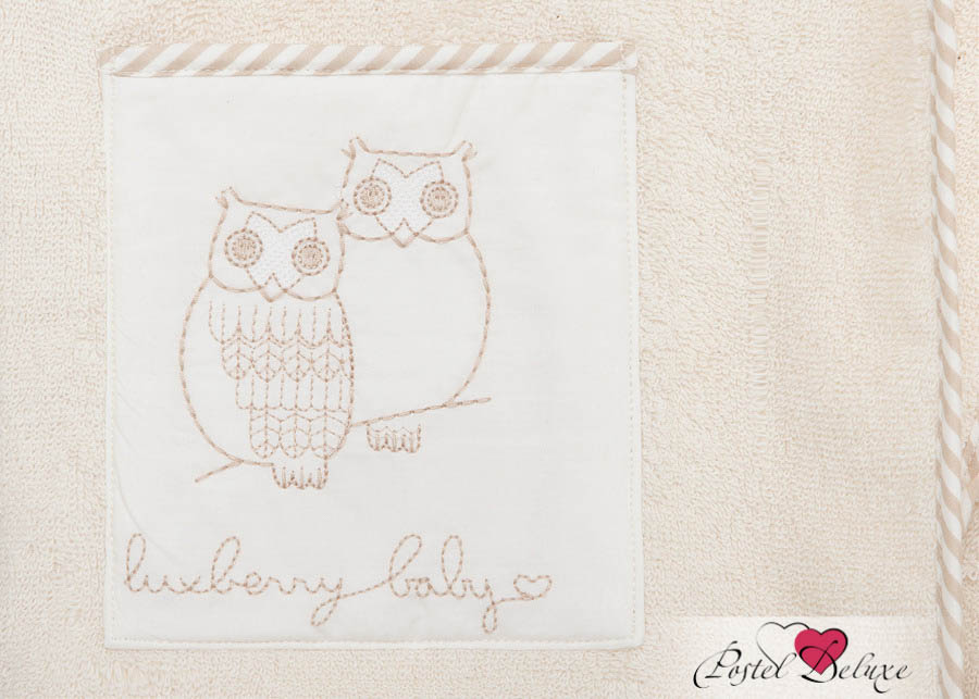 Детские халаты Luxberry Детский халат Совята Цвет: Жемчужный-Коричневый-Белый (9-10 лет) халаты домашние лори халат