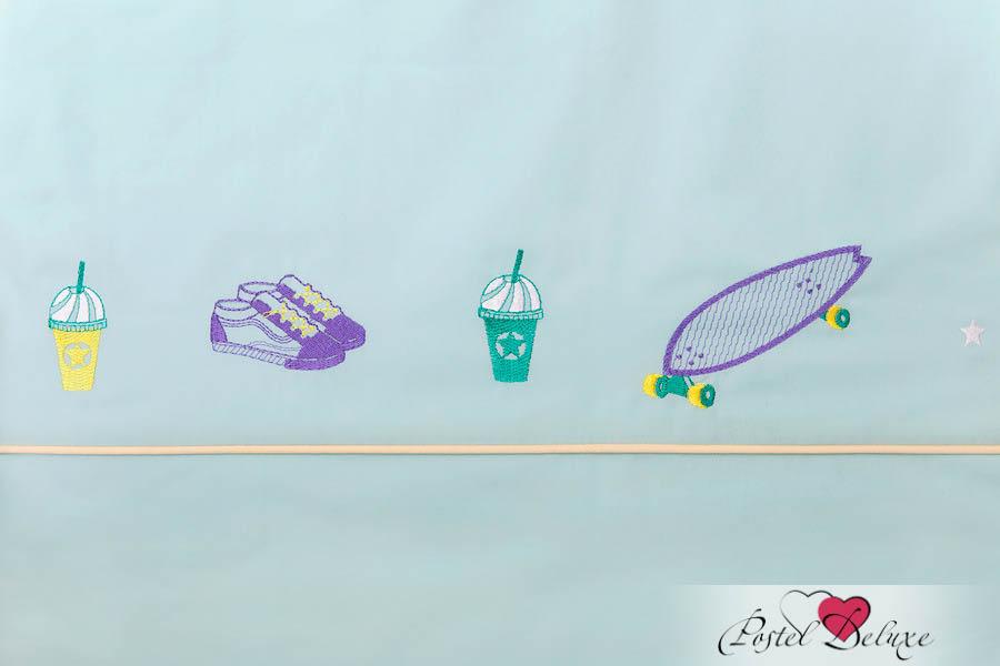 Постельное белье Luxberry Постельное белье Skateboys Цвет: Мятный-Банановый (1,5 спал.) luxberry комплект постельного белья skateboys