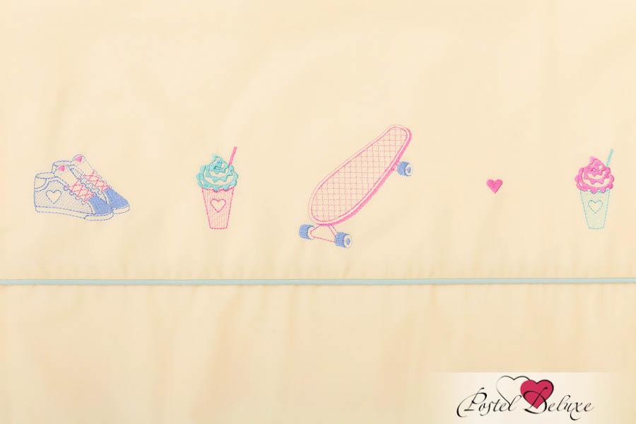 Постельное белье Luxberry Постельное белье Skategirls Цвет: Банановый-Мятный (1,5 спал.) плед luxberry imperio 10 умбра