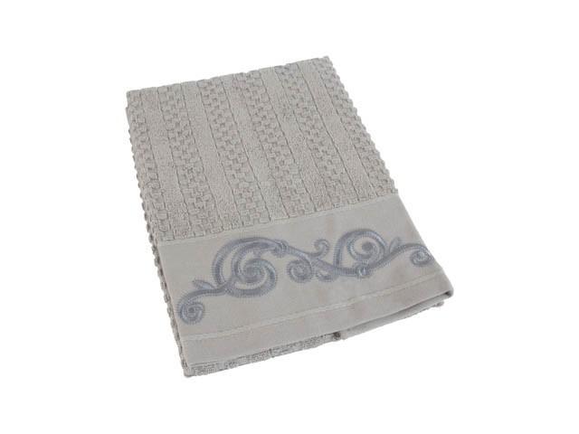 Полотенца Valentini Полотенце Valentini Цвет: Серый (50х100 см) полотенце 100 100 см авангард