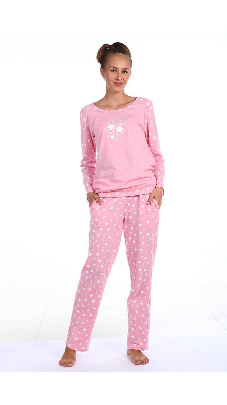 Пижамы Pastilla Пижама Стелла Цвет: Розовый (xxL-xxxL) пижамы mia cara пижама paulina цвет розовый xxl