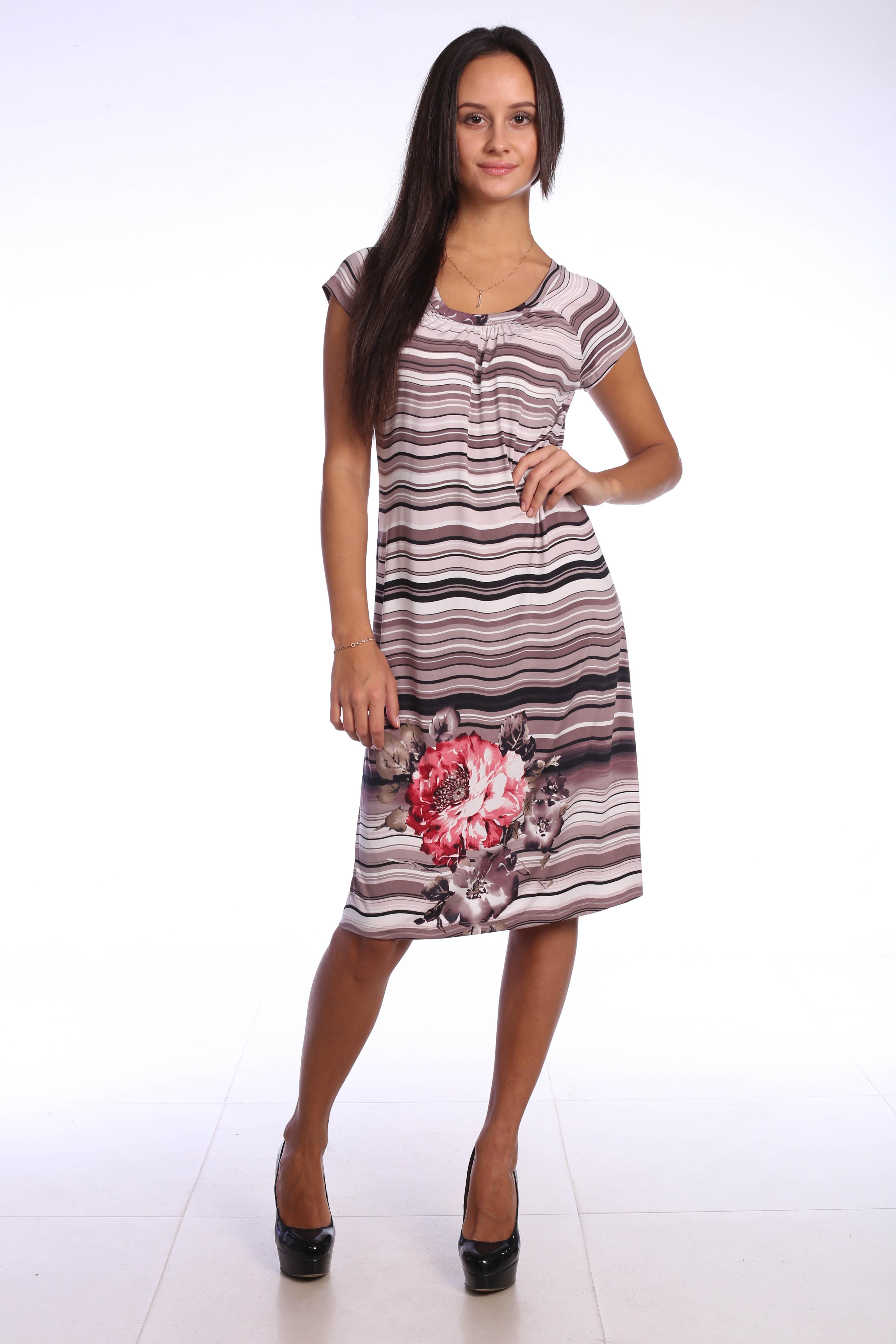 Костюмы для дома и отдыха Pastilla Платье Фиалка Цвет: Бежевый (M-L)