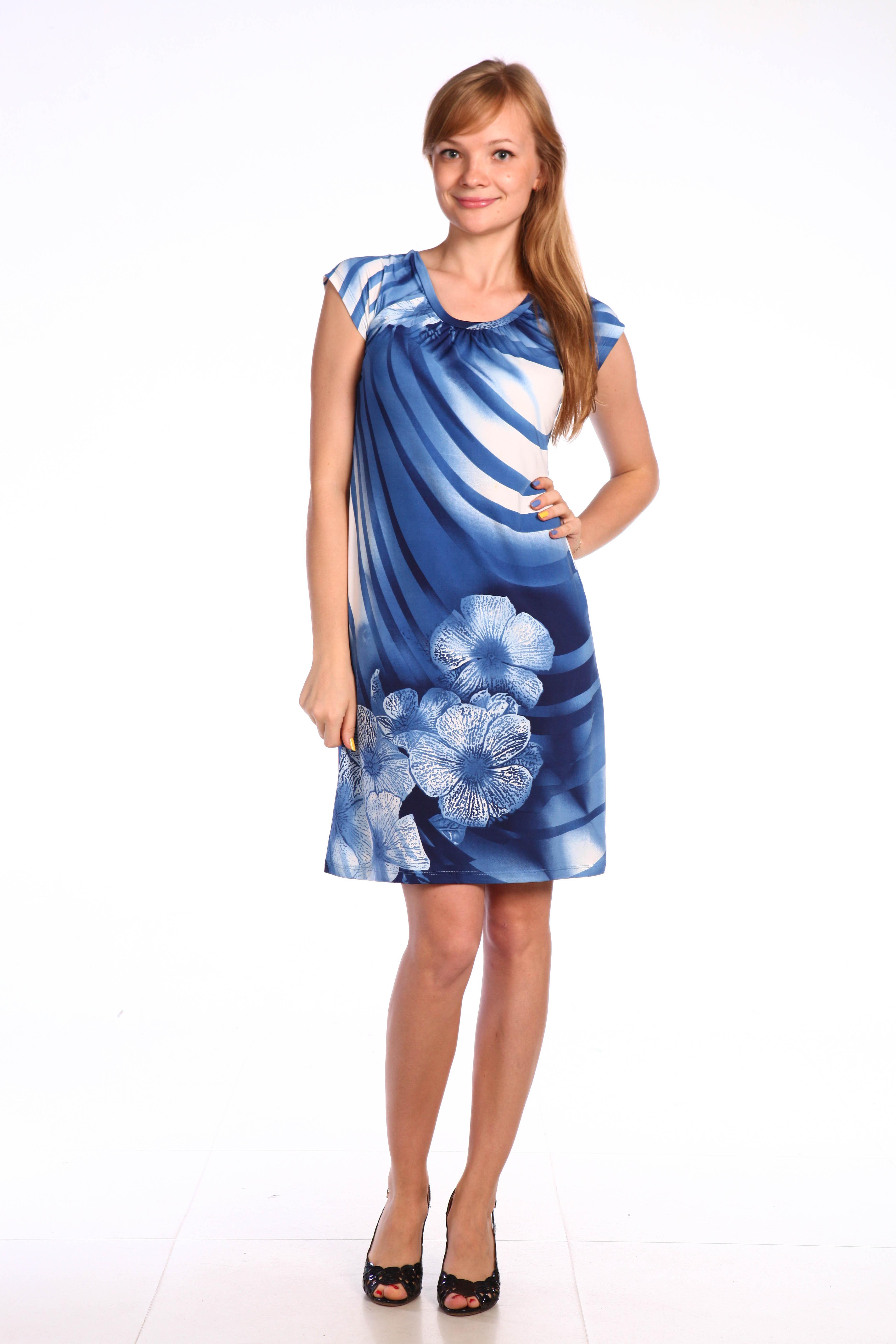 Костюмы для дома и отдыха Pastilla Платье Фиалка Цвет: Синие Цветы (M)