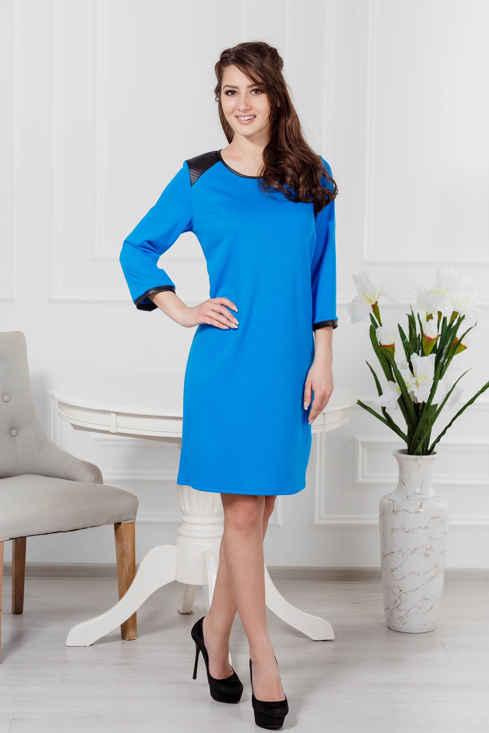 Костюмы для дома и отдыха Pastilla Платье Милан Цвет: Бирюза (M-L)