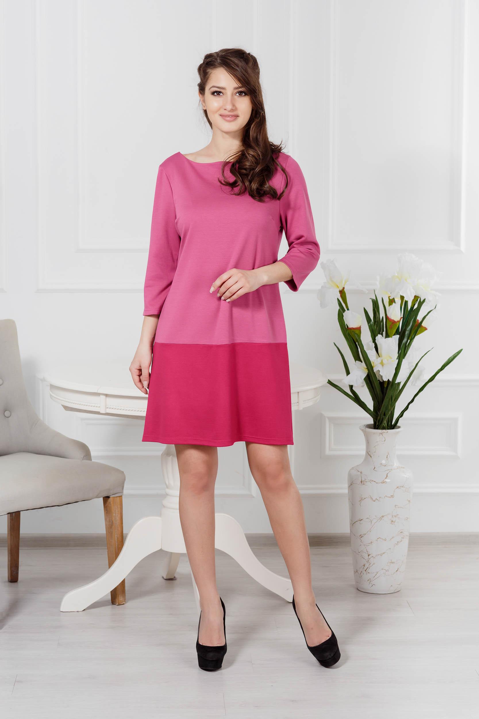 Костюмы для дома и отдыха Pastilla Платье Шарм Цвет: Брусничный (M-L)
