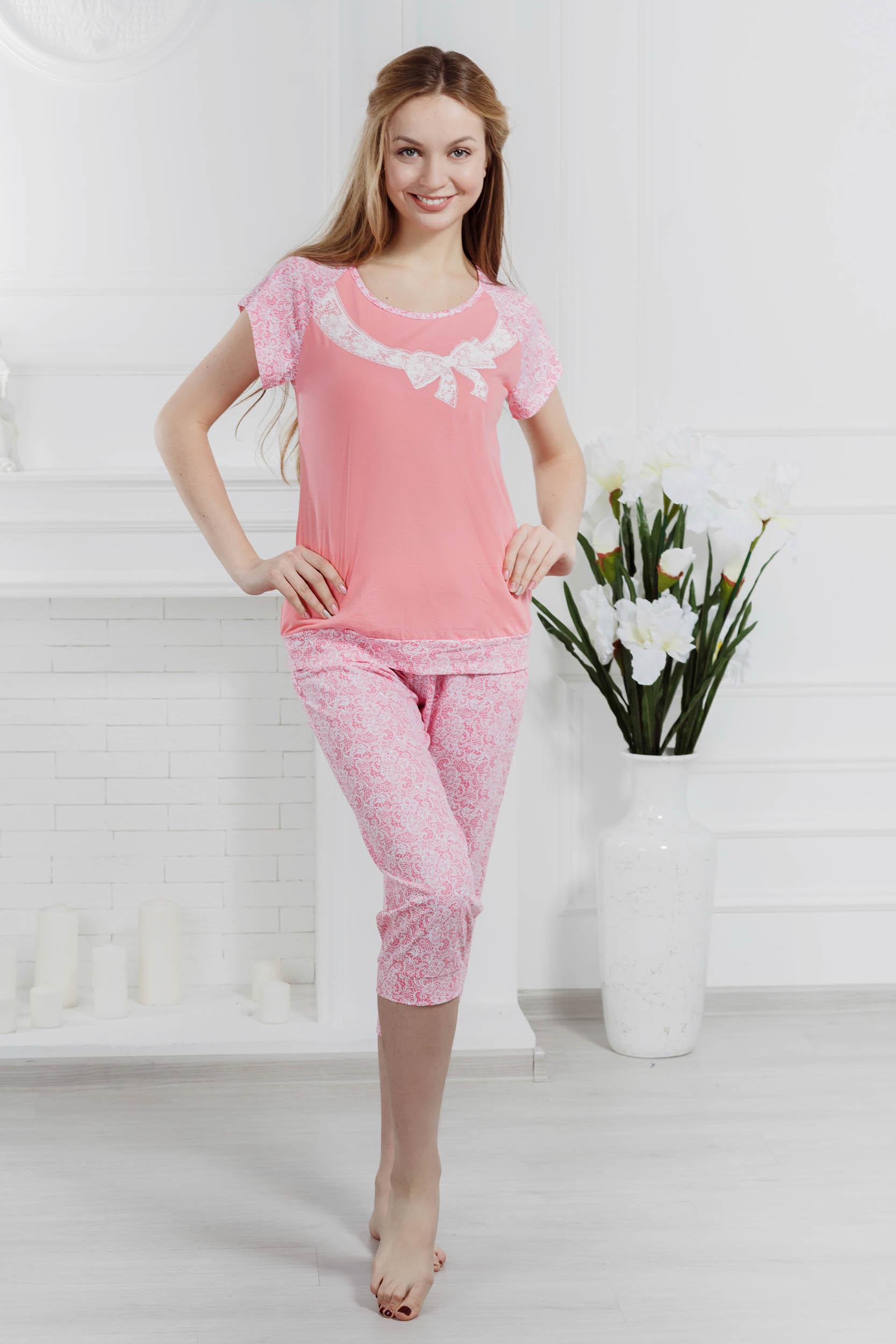 Костюмы для дома и отдыха Pastilla Костюм для дома Кружева Цвет: Розовый (xL)