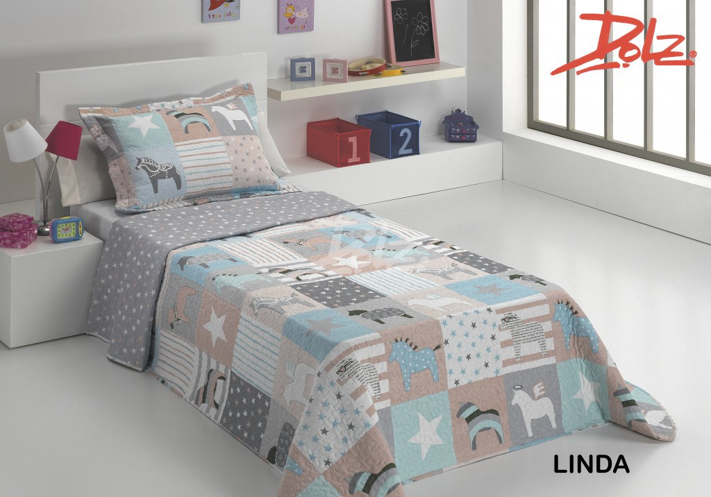 Детские покрывала, подушки, одеяла Dolz Детское покрывало Linda (180х270 см) cut out back daisy print blouse