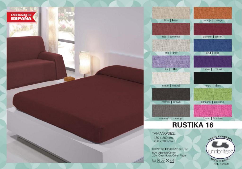 все цены на Покрывало Umbritex Покрывало Rustica Цвет: Черный (230х260 см) онлайн