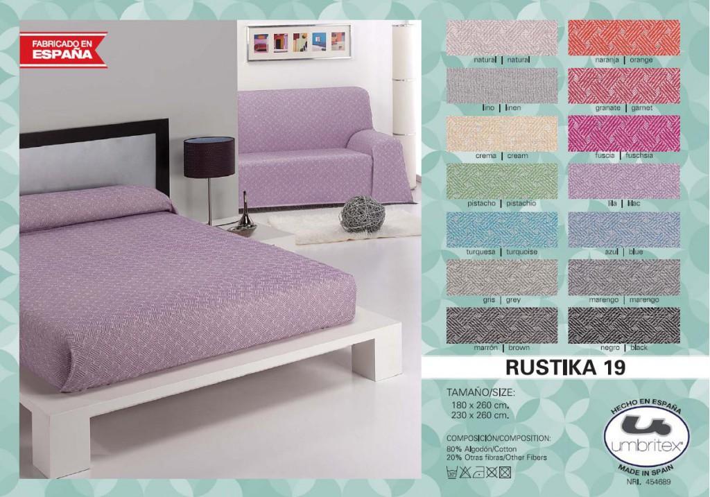 все цены на Покрывало Umbritex Покрывало Rustica Цвет: Сирень (230х260 см) онлайн