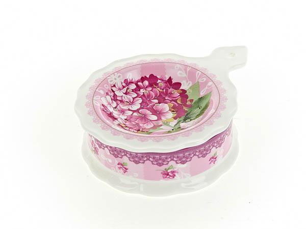 {} Nouvelle Подставка под чайный пакетик Розовая Гортензия (3х10х13 см) nouvelle подставка под чайный пакетик сад 3х10х13 см