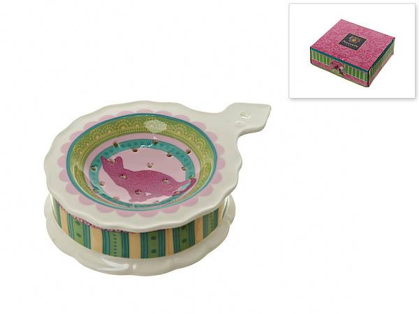 {} Nouvelle Подставка под чайный пакетик Кошки (3х10х13 см) nouvelle подставка под чайный пакетик сад 3х10х13 см