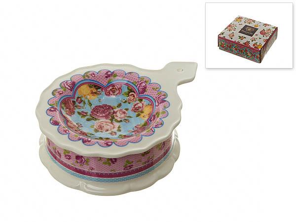 {} Nouvelle Подставка под чайный пакетик Розовый Нектар (3х10х13 см) nouvelle подставка под чайный пакетик сад 3х10х13 см