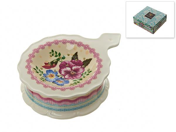 {} Nouvelle Подставка под чайный пакетик Версаль (3х10х13 см) nouvelle подставка под чайный пакетик сад 3х10х13 см