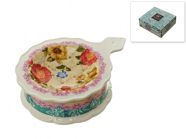 {} Nouvelle Подставка под чайный пакетик Цветочная Поэма (3х10х13 см) nouvelle подставка под чайный пакетик сад 3х10х13 см