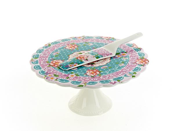 {} Nouvelle Подставка для торта Цветочные Кружева (Набор) блюда этажерки ambition трёх уровневая подставка для торта