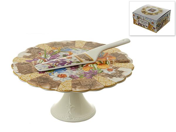 {} Nouvelle Подставка для торта Ирис (Набор) блюда этажерки ambition трёх уровневая подставка для торта