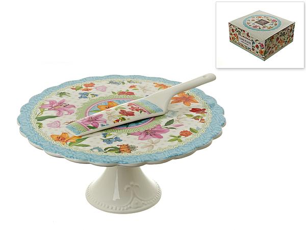 {} Nouvelle Подставка для торта Восточная Лилия (Набор) блюда этажерки ambition трёх уровневая подставка для торта