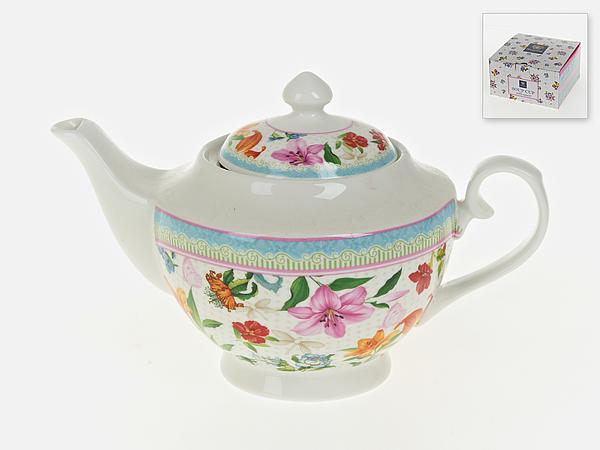 {} Nouvelle Заварочный чайник Восточная Лилия (16х16х26 см) чайник 1100 мл nouvelle чайник 1100 мл