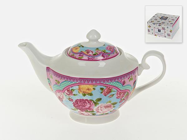 {} Nouvelle Заварочный чайник Розовый Нектар (16х16х26 см) русские подарки чайник заварочный розовый сад
