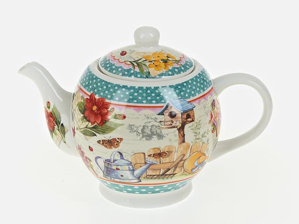 {} Nouvelle Заварочный чайник Сад (13х16х23 см) русские подарки чайник заварочный розовый сад