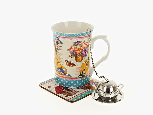 {} Nouvelle Чайный набор Сад (256 мл) чайный набор 4 предмета nouvelle сад m0661199
