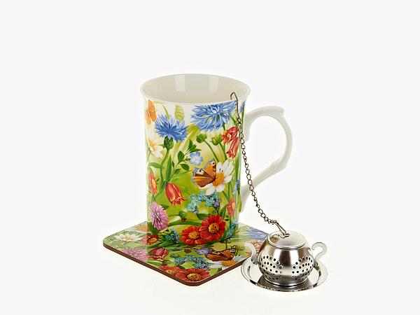 {} Nouvelle Чайный набор Русское Поле (256 мл) чайный набор 4 предмета nouvelle сад m0661199